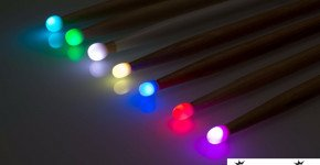 Each LiteStix has 10 color modules